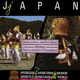 Japan: Semiclasssical and Folk Music CD