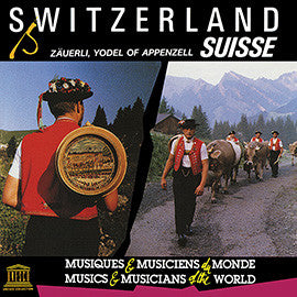 Switzerland: Zäuerli, Yodel of Appenzell CD