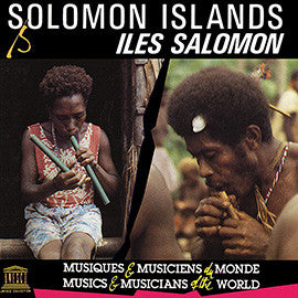 Solomon Islands: Fataleka and Baegu Music from Malaita CD