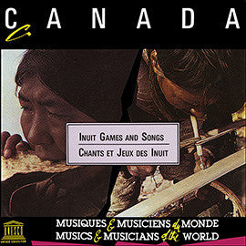 Canada: Inuit Games and Songs CD