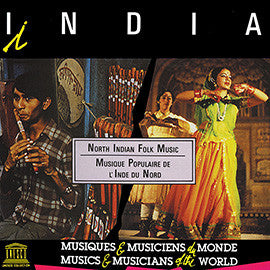 India: North Indian Folk Music CD