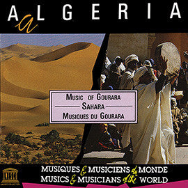 Algeria: Sahara - Music of Gourara CD