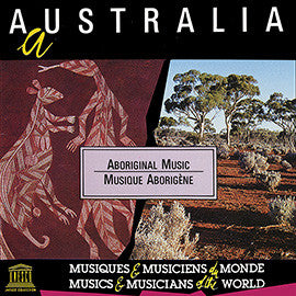 Australia: Aboriginal Music CD