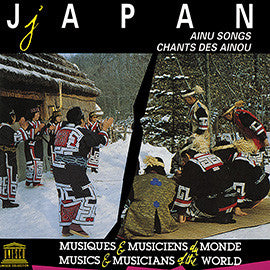 Japan: Ainu Songs CD