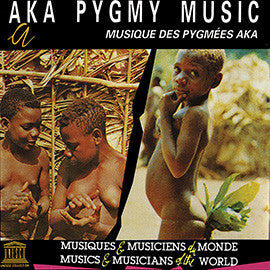 Aka Pygmy Music CD