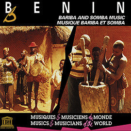 Benin: Bariba and Somba Music CD