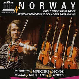 Norway: Fiddle and Hardanger Fiddle Music from Agder CD
