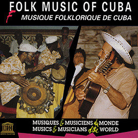 Folk Music of Cuba CD