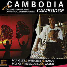 Cambodia: Folk and Ceremonial Music CD