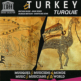Turkey: Bektashi Music - Ashik Songs CD