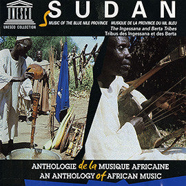 Sudan: Music of the Blue Nile Province - The Ingessana and Berta Tribes CD