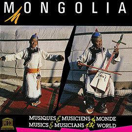 Mongolia: Traditional Music CD