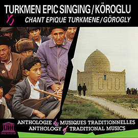 Turkmen Epic Singing: Köroglu CD