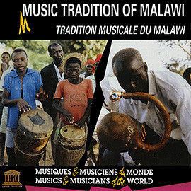 Music Tradition of Malawi CD