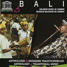 Bali: Balinese Music of Lombok CD