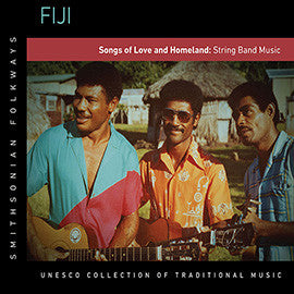 Fiji: Songs of Love and Homeland: String Band Music CD