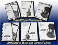 JVC Smithsonian Folkways Africa Collection -- 3 DVDs and 3 Books -- REDUCED PRICE