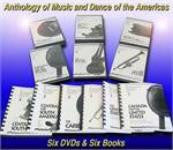 JVC Smithsonian Folkways Americas Collection -- 6 DVDs and 6 Books