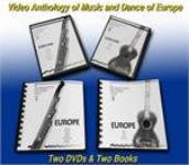 JVC Smithsonian Folkways Europe Collection -- 2 DVDs and 2 Books