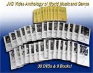 JVC Anthology of World Music and Dance on 30 DVDs and 1 CD-ROM with 9 printable, searchable and copy-permission books -- REDUCED PRICE