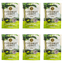 Coconut Jerky Chili Lime 6 pack (6 bags)