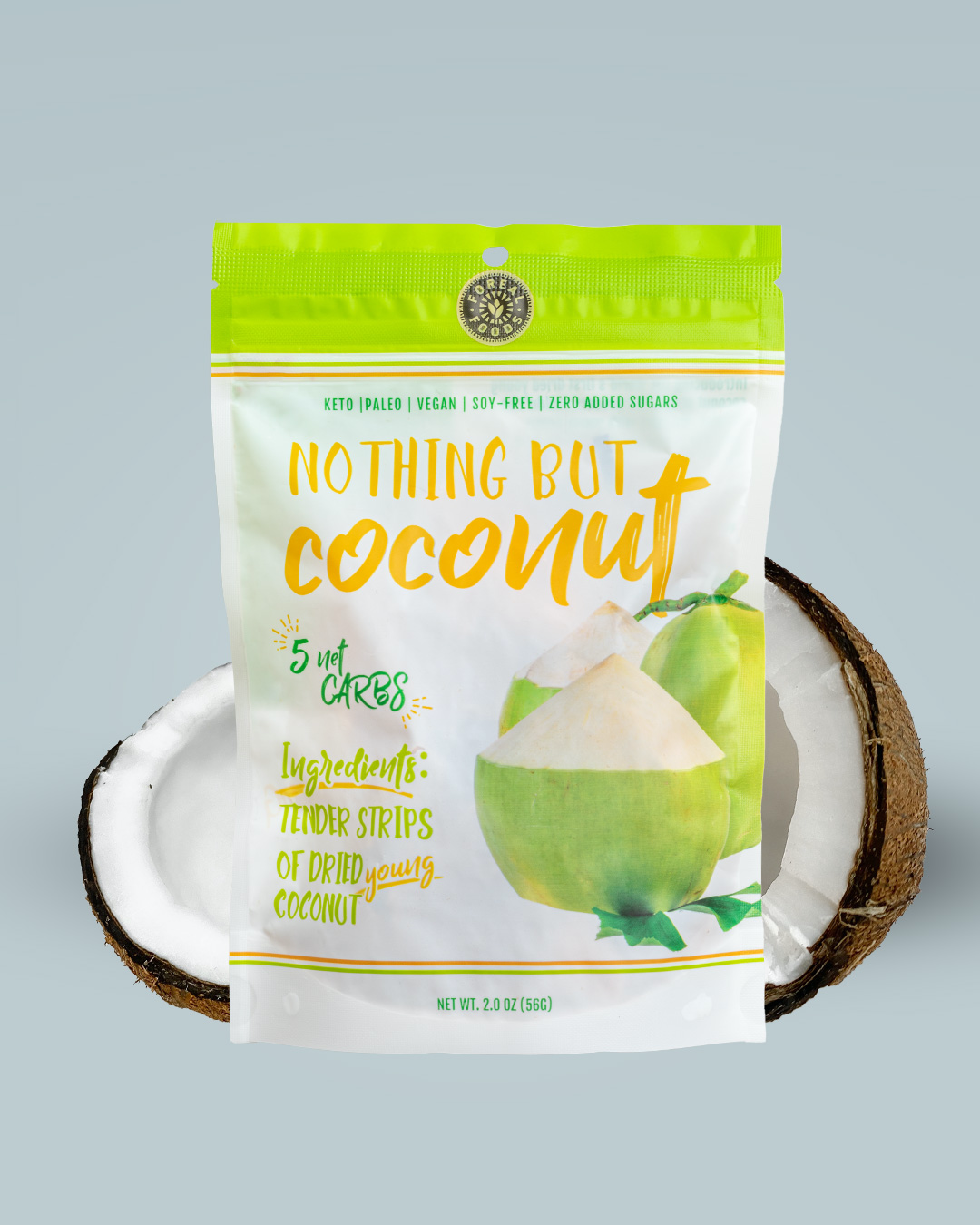BACK IN STOCK Nothing But Coconut - Case of 6