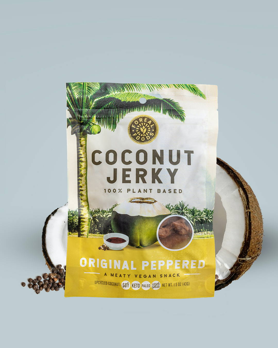 Original Peppered Coconut Jerky