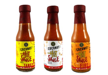 Coconut Hot Sauce Sampler Pack
