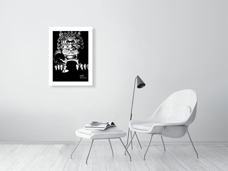 Dark Limited Edition Art Print - Hebkid Art