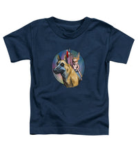 Fire Eye And Priest - Toddler T-Shirt - Hebkid Art