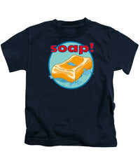 Soap - Kids T-Shirt - Hebkid Art