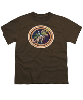 The Rings Of Saturn - Youth T-Shirt - Hebkid Art