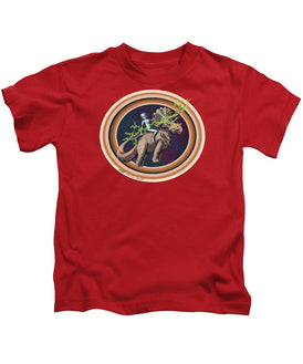 The Rings Of Saturn - Kids T-Shirt - Hebkid Art