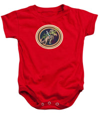 The Rings Of Saturn - Baby Onesie - Hebkid Art