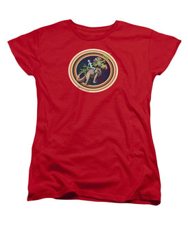 The Rings Of Saturn - Women's T-Shirt (Standard Fit) - Hebkid Art