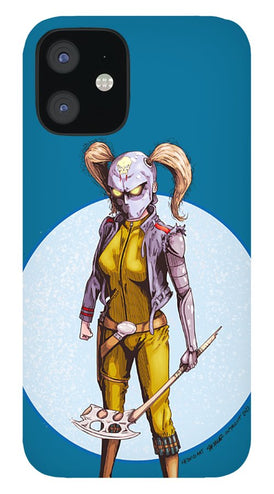 Psycho Hockey Vampire Pirate - Phone Case - Hebkid Art