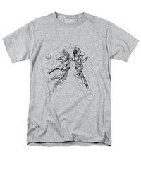 Bell Diver vs Hobo Clown - Men's T-Shirt  (Regular Fit) - Hebkid Art