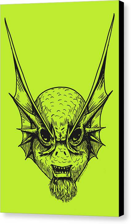 Fishface - Canvas Print - Hebkid Art