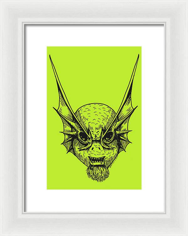 Fishface - Framed Print - Hebkid Art