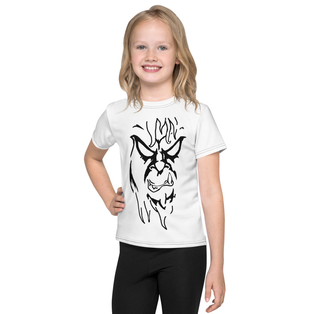 Beware The Bigfoot Kids T-Shirt