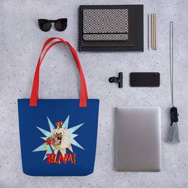 Blam! Tote bag - Hebkid Art