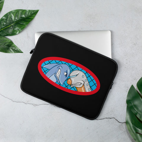 Sharks vs Jets Laptop Sleeve