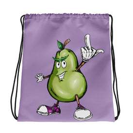 Prickly Pear Drawstring bag - Hebkid Art