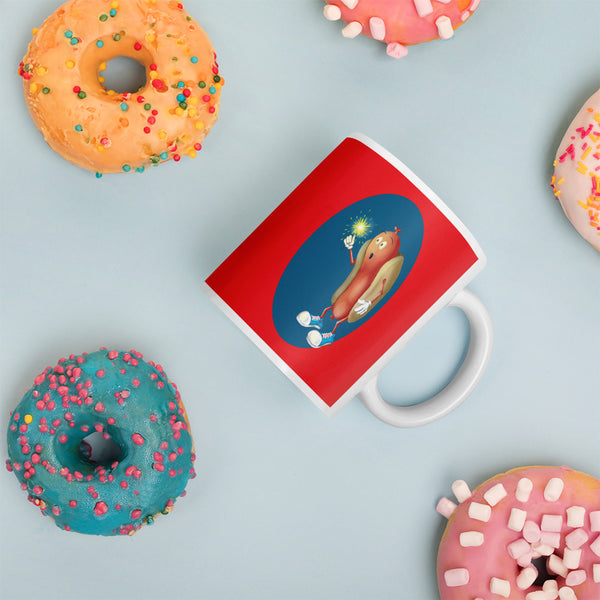 Mesmerized Hot Dog Mug