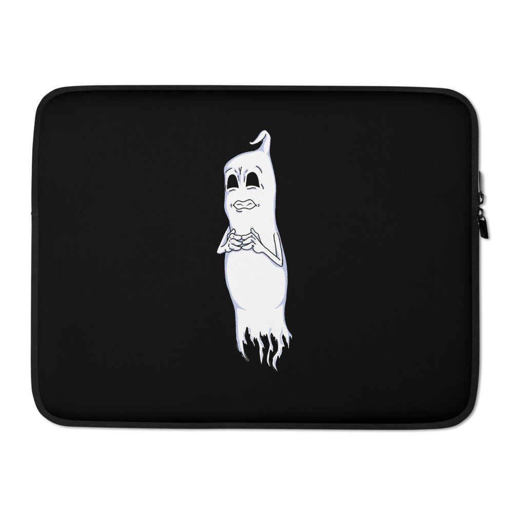Nervous Ghost Laptop Sleeve