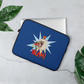 Blam! Laptop Sleeve - Hebkid Art