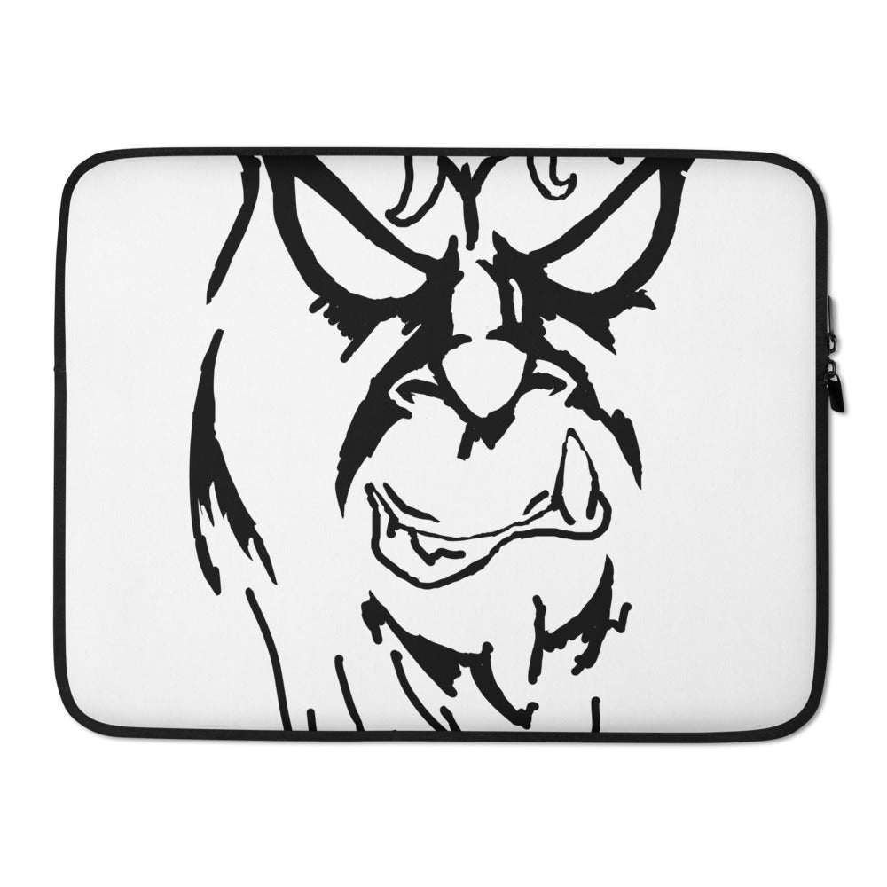 Beware The Bigfoot Laptop Sleeve