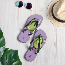 Prickly Pear Flip-Flops - Hebkid Art