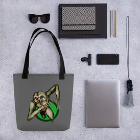 Berserker Sloth Tote bag - Hebkid Art
