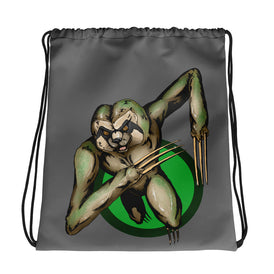 Berserker Sloth Drawstring bag - Hebkid Art